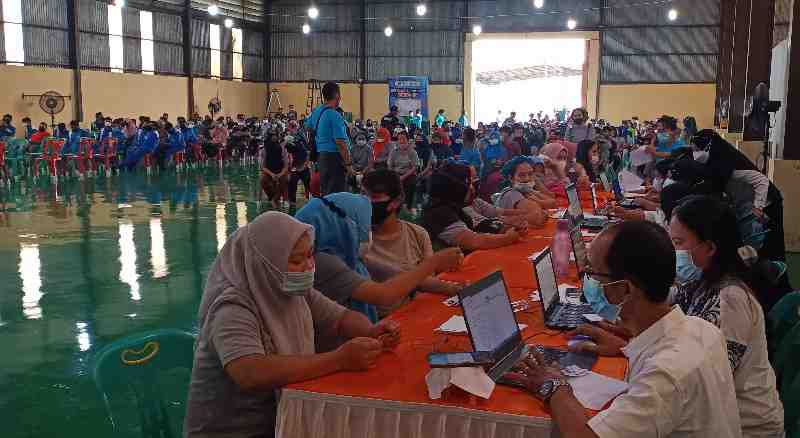 APINDO Cares for Vaccines Targets Vaccination of 20 Thousand Workers in North Sumatra